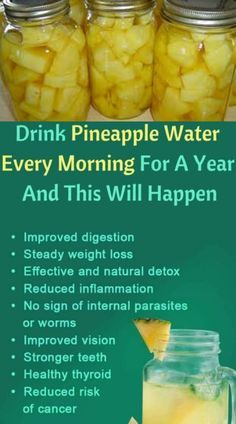 Drink Pineapple Water in the AM for Better Health Detox Tips, Improve Yourself, Cleanse