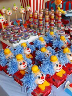TUDO PRA SUA FESTA: Festa Infantil - Tema Circo