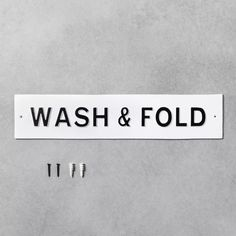 Wall Sign Wash Fold White Hearth Hand With Magnolia In 2020