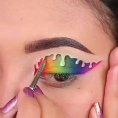 Makeup Eye Looks, Eye Makeup Steps, Eye Makeup Art, Crazy Makeup, Disney Eye Makeup, Fire Makeup, Makeup Artistry, Makeup Eyes, Eyeshadow Looks