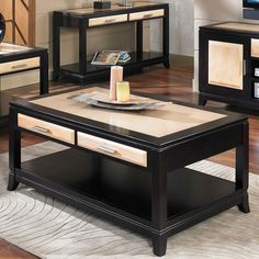 Have to have it. Somerton Dwelling Insignia Coffee Table - $329.28 @hayneedle.com only 48""