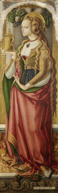 "Carlo Crivelli ""Maria Magdalena"" 1480"