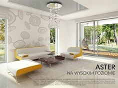 Aster idealny parterowy dom z tarasem dla 4-osobowej rodziny - Jesteśmy AUTOREM - DOMY w Stylu Aster, Alcove, House Plans, Divider, Bathtub, Curtains, How To Plan, Furniture, Home Decor