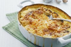 Savoury Garlic Scalloped Potatoes