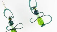 Orecchini fatti a mano, particolari ed eleganti, Orecchini Extrò - Serena Creazioni, Handmade Earrings