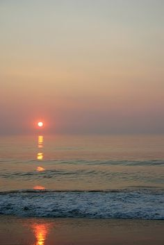 Sunrise in Nags Head, NC-- One of our favorite vacation spots!