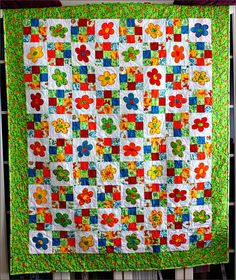 a kit quilt from a local patchwork shop [2012]