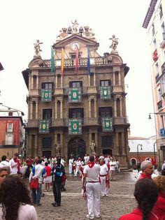 PAMPLONA - Navarra Spain, (Ya falta poco....)