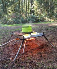 Pocket Campfire & Folding Griddle