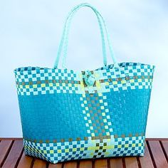 LOVE and Want Lace Bag, Purses And Bags, Diaper Bag, Hand Weaving, Turquoise, Weave, Baskets, Plastic, Craft Bags