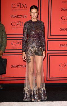 Glamour| SerafiniAmelia| Glam Gal-Adriana Lima