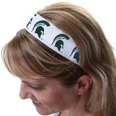 Michigan State Spartans Head Wrap - White - $8.99