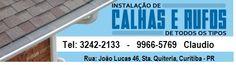 Calhas e rufos em Curitiba, Calhas em Curitiba, Calhas e telhados em Curitiba