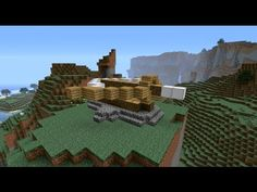 Minecraft Tutorial: How to build medieval siege weapons