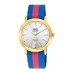 Armbanduhr Milano Blau-Rot, 24€, jetzt auf Fab.