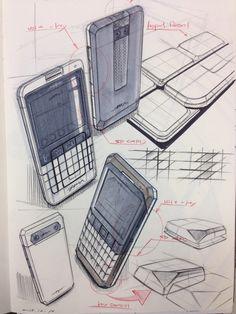 Smart phone sketch