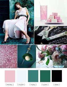 Wedding   Theme   Pink   Green