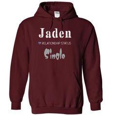 Jaden T Shirts, Hoodies Sweatshirts. Check price ==► http://store.customtshirts.xyz/go.php?u=https://www.sunfrog.com/Names/Jaden-7472-Maroon-14838211-Hoodie.html?41382