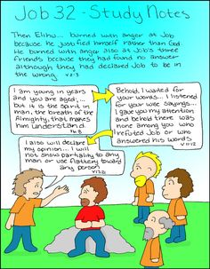 Doodle Through The Bible: Job 32 A free coloring page of this doodle is available at the website :)