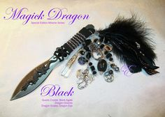 Black Magick Dragon Athame  by Eliora http://etsy.me/2eVOh4a via @Etsy