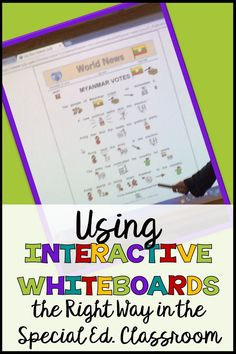 Interactive whiteboa