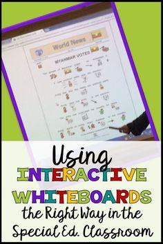Interactive whiteboa
