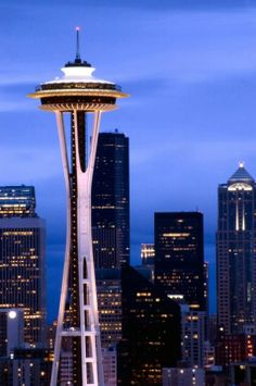 Seattle...been here a hundred times and still have not been to the top of the Space Needle ...
