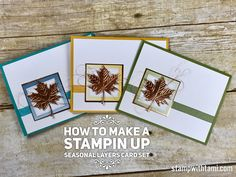 ONLINE CLASS & VIDEO: What happens when Copper meets Seasonal Layers dies | Stampin Up Demonstrator - Tami White - Stamp With Tami Crafting and Card-Making Stampin Up blog