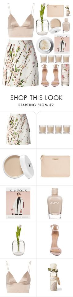 """Hush"" by ocenia ❤ liked on Polyvore featuring Dolce&Gabbana, Shabby Chic, DKNY, Zoya, Schutz and T By Alexander Wang"