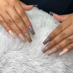 Pink Acrylic Nails, Pink Acrylics, Tapered Square Nails, Cool Tones, Long Nails, Cute Nails, Claws, Instagram, Videos