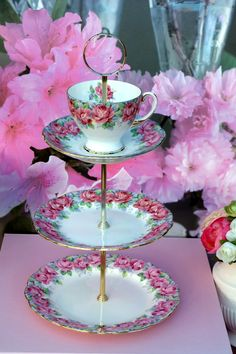 www.cakestandland.co.uk  Royal Stafford Cake stand