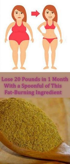 Lose 20 Pounds in 1 Month With a Spoonful of This Fat-Burning Ingredient