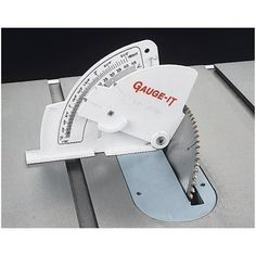 Grizzly Table Saw Gauge                                                       … #WoodworkingTools