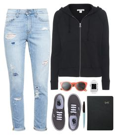 """""""JAMES PERSE Classic Hoodie Zip Up Supima cotton zipper hoodie"""" by crblackflag ❤ liked on Polyvore"""