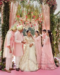 Ultimate Ideas For A Colored Theme Wedding You Must Consider Wedding Looks, Red Wedding, Bridal Looks, Wedding Bride, Wedding Outfits For Groom, Bridal Outfits, Indian Wedding Planning, Indian Wedding Photography, Groom Outfit