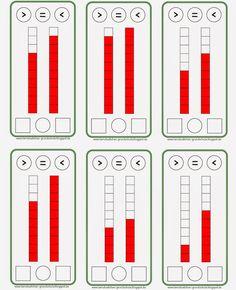 Lernstübchen: größer - kleiner - gleich