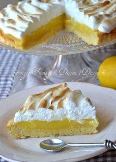 ♡ Fromage ou Dessert ? ... DESSERT !!! ♡: Tarte au citron meringuée au lemon curd