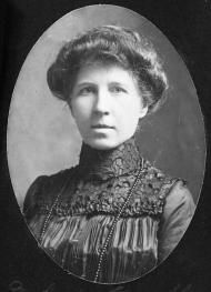 """From the North Carolina History Project, """"Annie Alexander has a unique place in history: the first female licensed to practice medicine in the South. Annie was strongly influenced by her father, a physician himself, who determined that she should become a doctor after one of his female patients died after refusing medical attention out of fear of being examined by a man."""""""