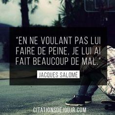 Inspirational Quote: Très belle citation de Jacques Salomé sur lhomme