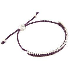 Links of London Friendship Mini Bracelet (3.354.325 VND) ❤ liked on Polyvore featuring jewelry, bracelets, sterling silver bracelet, woven friendship bracelet, bracelet bangle, sterling silver braided bracelet and braided bracelet