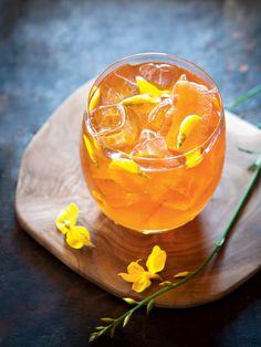 Honeybush iced tea