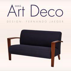 Sofá Art Deco