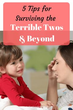 If anyone tells you that the terrible twos aren't real, they are lying to you! Here are some tips for surviving the terrible twos, & beyond Step Parenting, Parenting Toddlers, Parenting Advice, Practical Parenting, Hot Moms Club, Kindergarten, Terrible Twos, Toddler Discipline, Parenting Hacks