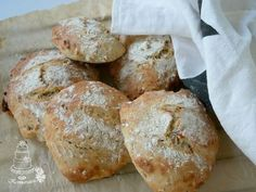 Bread Recipes, Muffins, Bakery, Brunch, Rolls, Food And Drink, Favorite Recipes, Yummy Food, Healthy