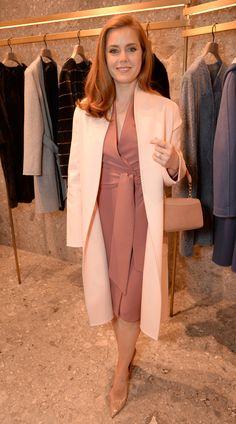 Amy Adams - Max Mara cruise 2016 Catwalk Fashion Show in London | Harper's Bazaar