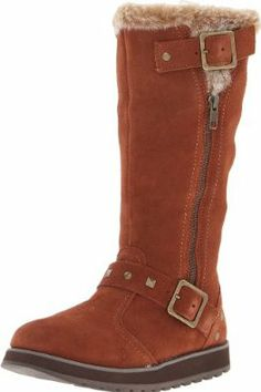 Skechers Women's Keepsakes-Tall 2 Buckle Snow Boot