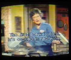The French Chef, produced by WGBH & broadcast on PBS, was the first program to be captioned, way back in Small Company, Student Engagement, Multimedia, Love Story, French, Writing, Photo And Video, Film, Tv