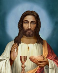 Jesus - the institution of the Holy Eucharist | Huellas ...