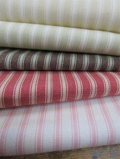 Ticking Stripe | Linwood Fabrics & Wallpapers
