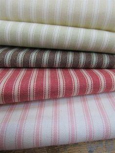Ticking Stripe | Linwood Fabrics & Wallpapers